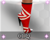 [CCQ]Jive Shoe Red