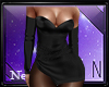 Tess Black Dress