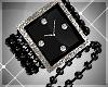 *A* Glitz Silver Watch