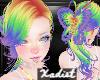 {X} Rainbow Butterfly