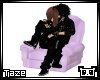 -T- Kiss Me Chair Pastel