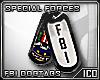 ICO FBI Dogtags F