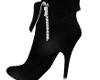 UNIQUE BLACK SHORT BOOTS