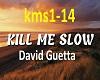 DavidGuetta Kill Me Slow