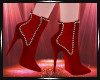 Laurie Red Boots