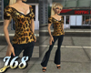 J68 Eve Outfit Leopard