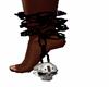 foot chain skull