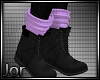 *JK* Fall Boots Purple