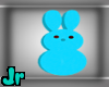 Blue peep candy