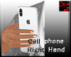 Cell Phone Right hand