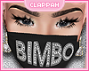 Bimbo Mask Black