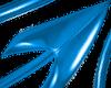 Devil Tail Blue PVC M