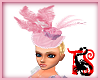 TS Pink Feather Hat