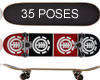 DM element Skate 35poses