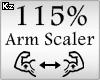 Scaler Arm 115%