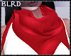 b| Layerable Red Scarf
