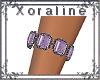 (XL)Slv/Purp Bracelet R