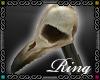 {D}BirdSkull Ring