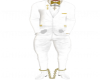 oax white n gold suit
