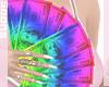 """ Rainbow $100's"