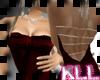 [KLL] SATIN DRESS RED