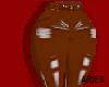 Latex Brown Pants