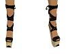 Ladies tied shoes
