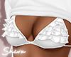 $ White Top & Bra
