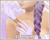 Lilac Nurse Gloves