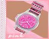 PINK-Aztec Pink Watch