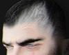S. Base Hair Black White