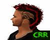 Red Short Mohawk