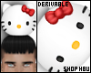 drv Hello Kitty plushy M