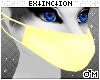 #furry mask: yellow
