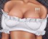 E. Ruffle Off Shoulder