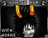 !T Gamzee hair + horns