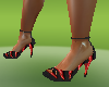 disco black hot h shoes