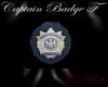 Captains Badge F
