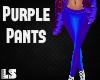 Purple Winter Pants