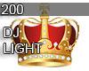 200 DJ LIGHT CROWN
