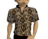 mens snakeskin shirt