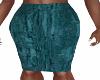 Nan-Teal Pencil Skirt