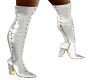 *wc* white boots
