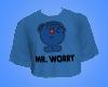 Mr Worry Crop Top
