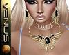 ~V~Scarab Onyx Set