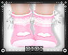 !D! Kid Pink Love Socks