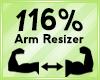 Arm Scaler 116%