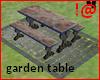 !@ Garden marble table