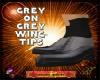 DM:GREY ON GREY WING-TIP