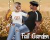 Fall Garden Swing